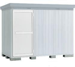 【北海道限定】イナバ物置 ネクスタプラス ドアタイプ NXP-36HD ハイルーフ 多雪地型 [収納庫/収納/屋外収納庫/倉庫/NEXTA/大型/中型/小屋/いなば物置/稲葉/物置き]