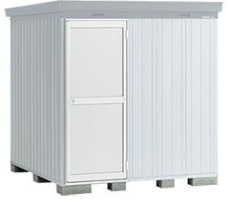 【北海道限定】イナバ物置 ネクスタプラス ドアタイプ NXP-48SD スタンダード 多雪地型 [収納庫/収納/屋外収納庫/倉庫/NEXTA/大型/中型/小屋/いなば物置/稲葉/物置き]