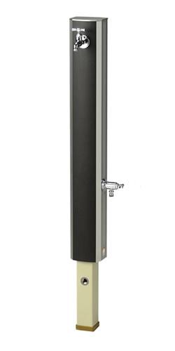 ニッコーエクステリア 【法人お届け先限定販売】簡単装着リフォーム対応カバー製品 立水栓ユニット フォギータイプA(補助蛇口仕様) ※蛇口・補助蛇口は別売、本体の水栓柱は付属しています OPB-RS-25W