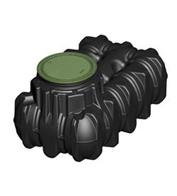 グローベン 雨利水システム グローベンアンダータンク 駐車場向けパーキングセット タンク容量1500リットル C20GR515P