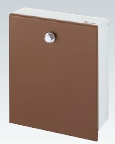 【送料無料】四国化成 アルメールWF5型 壁掛けタイプ 化粧パネル無し AM-WF5B-247 栗皮色