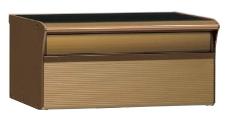 【エントリーでポイント5倍!】【送料無料】四国化成 アルメールDUAL1型ダイヤル仕様 独立・埋め込みタイプ Pタイプ AM-DUAL1PD-BZ