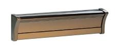 【送料無料】四国化成 アルメールKH-1型 ダイヤル錠仕様 切り欠き12cm 口金タイプ 1Bサイズ AM-KH1D-12SBZ ブロンズ