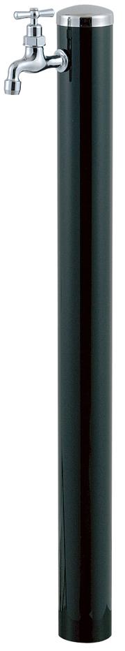 宝泉製作所 スタイリッシュモダン水栓柱 ウォーターポール ダークグリーン 1口 351DG-1