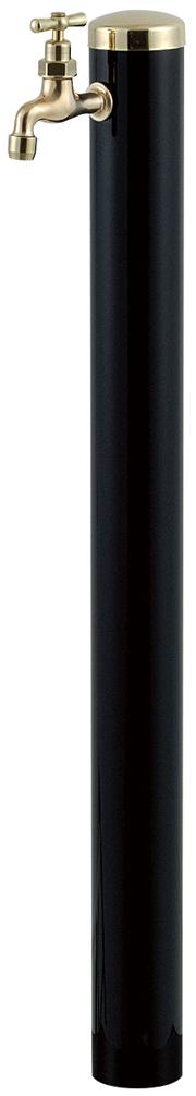 宝泉製作所 スタイリッシュモダン水栓柱 ウォーターポール ブラック 1口 352B-1