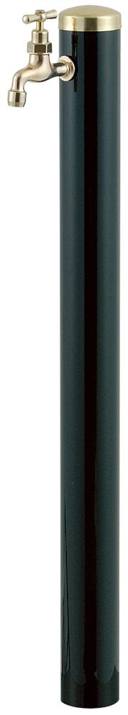 宝泉製作所 スタイリッシュモダン水栓柱 ウォーターポール ダークグリーン 1口 352DG-1