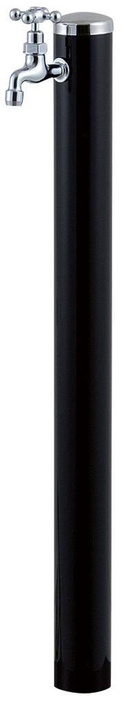 宝泉製作所 スタイリッシュモダン水栓柱 ウォーターポール ブラック 1口 353B-1