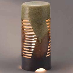 グローベン 信楽焼 庭園灯 流れ A60CGL009S