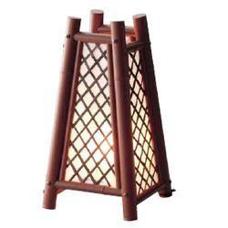 グローベン 屋内用 人工竹 行灯 三角 A60TJA011