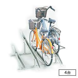 【設置工事対応可】ダイケン 自転車用 サイクルスタンド KS-C284(スタンドピッチ280) 収容台数4台[自動車/駐輪/駐輪所/スペース/設置/ラック/停める/ダイケン/だいけん]