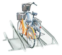 【設置工事対応可】ダイケン 自転車用 サイクルスタンド KS-C286(スタンドピッチ280) 収容台数6台[自動車/駐輪/駐輪所/スペース/設置/ラック/停める/ダイケン/だいけん]