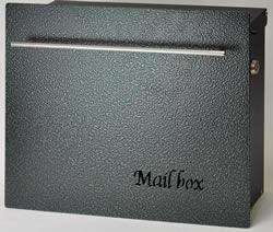 送料無料 Only One 郵便ポスト ノイエキューブ ハンマートーンタイプ グリーン(壁掛け使用) GM1-E60-603[壁掛けポスト/戸建ポスト/郵便受け/郵便ポスト]