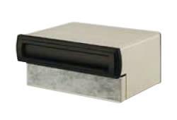 LIXIL リクシル エクスポスト 口金タイプ N-1型 2B-05 前入れ後取出し マイルドブラック【送料無料】VPQ23 KSK