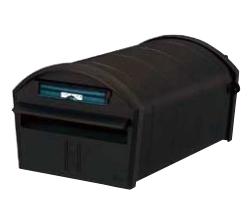 LIXIL郵便ポスト リクシル エクスポスト アメリカンタイプ W-1型 セキュリティ仕様 前入れ後取出し マイルドブラック【送料無料】VPQ44 KSK