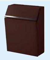 LIXIL 郵便ポスト リクシル エクスポスト プレイン 前入れ前取出し ショコラブラウン【送料無料】8KKA17NB KSK