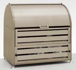 LIXIL リクシル ゴミ収納庫 ダストックRS型 W1200 シャイングレー【送料無料】