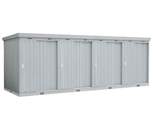 イナバ物置 引き戸タイプ連続型 NXN-28CSL 基本棟(1棟目) 一般型・多雪型 [収納庫/収納/屋外収納庫/屋外/倉庫/激安/価格/小屋/ガーデニング/庭/いなば/いなば物置/稲葉/ものおき/物置き]