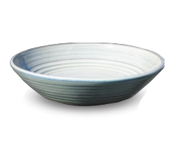 ニッコーエクステリア 水鉢(排水穴あり) 国成窯手洗鉢 越前焼 排水金具付き(裏側ネジG1) GFM-24