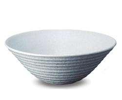 ニッコーエクステリア 水鉢(排水穴あり) 千段手洗鉢(白雪) 信楽焼 排水金具付き(裏側ネジG1) GFM-7