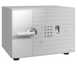 【搬入・据置費込み】エーコー 耐火金庫 テンキー・指紋照合 2マルチロック式 内蔵シリンダー錠 ディー・フェイス DFS1-FE ※重量58kg