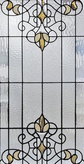 セブンホーム 遮音・断熱・防犯性のステンドグラス ピュアグラス Aサイズ SH-A39 [ステンドグラス/ガラス/インテリア/窓/小窓/室内/屋内]