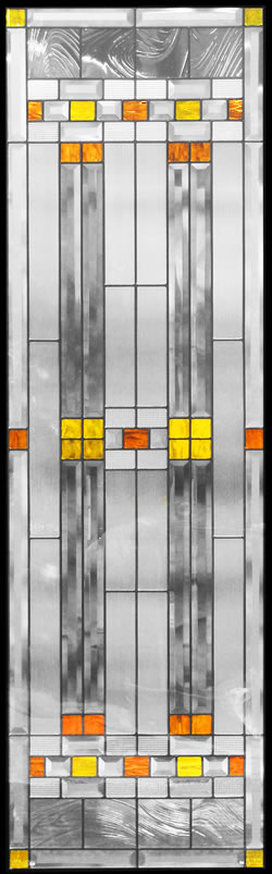 遮音・断熱・防犯性のステンドグラス ピュアグラス Bサイズ SH-B07 [ステンドグラス/ガラス/インテリア/窓/小窓/室内/屋内]