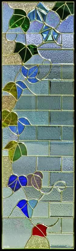 遮音・断熱・防犯性のステンドグラス ピュアグラス Bサイズ SH-B13 [ステンドグラス/ガラス/インテリア/窓/小窓/室内/屋内]