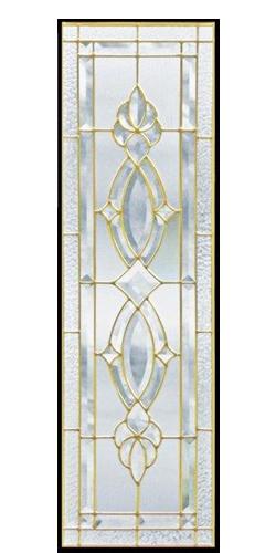 遮音・断熱・防犯性のステンドグラス ピュアグラス Cサイズ SH-C01 [ステンドグラス/ガラス/インテリア/窓/小窓/室内/屋内]
