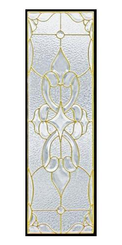 遮音・断熱・防犯性のステンドグラス ピュアグラス Cサイズ SH-C02 [ステンドグラス/ガラス/インテリア/窓/小窓/室内/屋内]