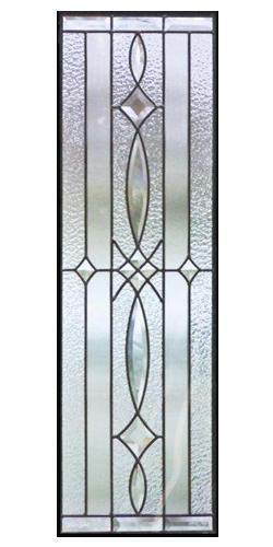 遮音・断熱・防犯性のステンドグラス ピュアグラス Cサイズ SH-C03 [ステンドグラス/ガラス/インテリア/窓/小窓/室内/屋内]