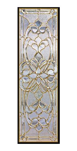 遮音・断熱・防犯性のステンドグラス ピュアグラス Bサイズ SH-B03 [ステンドグラス/ガラス/インテリア/窓/小窓/室内/屋内]