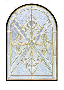 遮音・断熱・防犯性のステンドグラス ピュアグラス Kグループ SH-K05 [ステンドグラス/ガラス/インテリア/窓/小窓/室内/屋内]