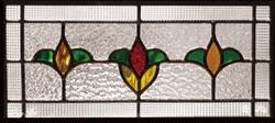 遮音・断熱・防犯性のステンドグラス ピュアグラス Kグループ SH-K04 [ステンドグラス/ガラス/インテリア/窓/小窓/室内/屋内]