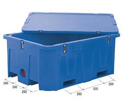 サンコー 超大型コンテナー 水槽 サンコールドボックス #1000LD 890934-01 [業務用/水産/畜産加工/農業用/工業用/貯蔵槽/運搬槽/漬込槽/養殖槽/水洗槽/調合槽/染色]