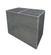 エコ環境プロジェクト 最高級品質メッシュ素材 折りたたみ式ゴミステーション チップBOX No.1269 幅1200×奥行650×高さ900mm エリア限定送料無料