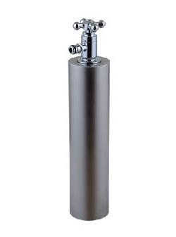 宝泉製作所 立水栓 水栓柱 散水専用 ウォーターポール ヘアライン仕上げ 356HL 送料無料