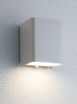 ユニソン ガーデンライト エコルトウォールライト 壁面取付け専用型 LED シルバー EA-01007-12