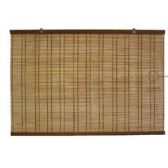 グローベン 天然竹すだれ 茶 (折釘2本付き) 幅880×高さ1700mm A60TJH170B
