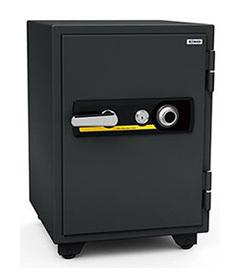 【搬入・据置費込み】 エーコー 耐火金庫 警報装置付 ダイヤル式 鍵2本付属 スタンダード トレー7枚付 BSD-7A