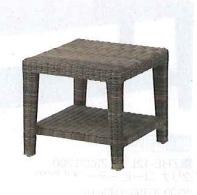 【送料無料】ガーデンファニチャー タリナ コーヒーテーブル450 ZHE-11LT