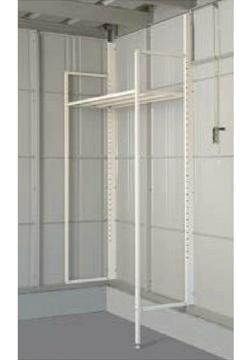 タクボガレージ オプション 別売棚の支柱セット SM・CM型用(基本設置用) VM-S-K (本体同時発注価格)※棚板は別途