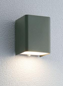 ユニソン ガーデンライト エコルトウォールライト 壁面取付け専用型 LED アイビーグレー EA-01007-22