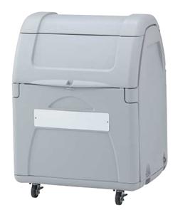 ゴミステーション 大型ゴミ箱 シコク ゴミストッカー EP330型 キャスタータイプ 内容器付 GSEP33B-LG ※受注生産品 [自治会/町内会/設置/屋外/カラス/対策/猫/大容量/ごみ/ゴミ箱]