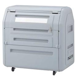 ゴミステーション 大型ゴミ箱 シコク ゴミストッカー EP650型 キャスタータイプ 内容器付 GSEP65B-LG ※受注生産品 [自治会/町内会/設置/屋外/カラス/対策/猫/大容量/ごみ/ゴミ箱]