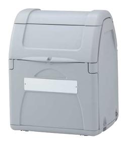 ゴミステーション 大型ゴミ箱 シコク ゴミストッカー EP330型 アンカータイプ 内容器付 GSEPA33B-LG ※受注生産品 [自治会/町内会/設置/屋外/カラス/対策/猫/大容量/ごみ/ゴミ箱]
