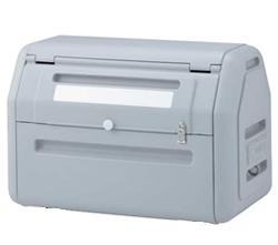 ゴミステーション 大型ゴミ箱 シコク ゴミストッカー EP400型 アンカータイプ 内容器なし GSEPA40A-LG ※受注生産品 [自治会/町内会/設置/屋外/カラス/対策/猫/大容量/ごみ/ゴミ箱]