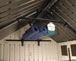 送料無料 お客様組立 サンキャスト ホームデザイン物置オプションAlpine(アルパイン) ロフトシェルフ BMSA2L