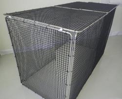 エコ環境プロジェクト 最高級品質メッシュ素材 折りたたみ式ゴミステーション チップBOX No.1569 エリア限定送料無料