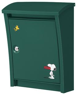 丸三タカギ STYLISH POST グリーン色 SPPE-5903-A 前入れ前取り出し (スヌーピー)
