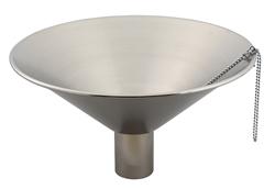 宝泉製作所 水鉢 ステンレス中鉢 ヘアライン仕上げ 405